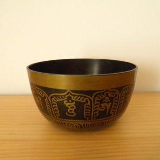 Comprar cuenco tibetano decorado