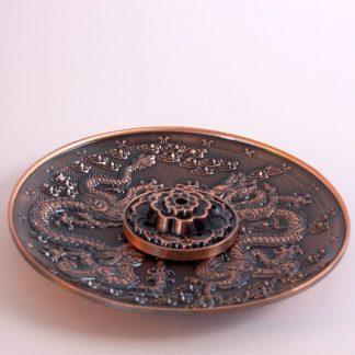 Incensario metálico cobre