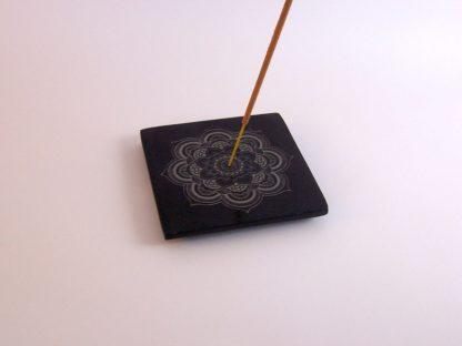 Incensario de esteatita con mandala