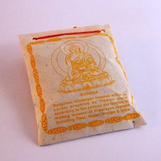 Incienso tibetano en polvo Buddha