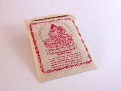 Incienso tibetano en polvo Tara Blanca