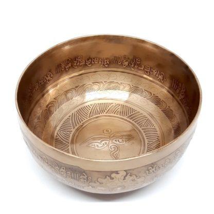 Comprar cuenco tibetano grabado SOL