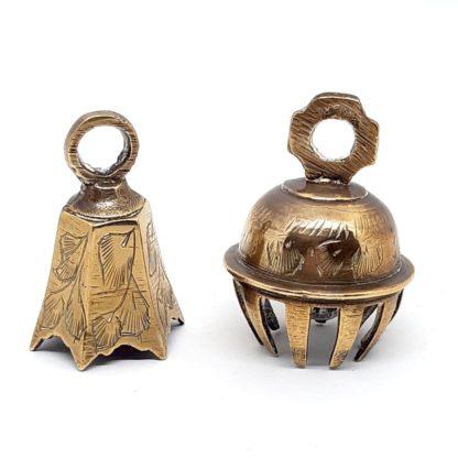 Set de campanas rituales de India