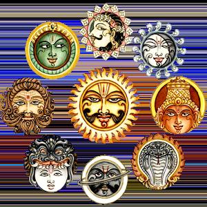 Planetas de la astrología védica.