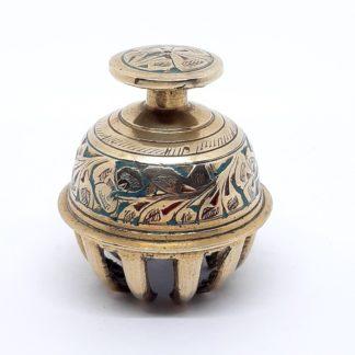 Antigua campana de elefante de la India